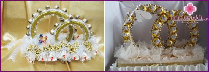 Candy Wedding Rings