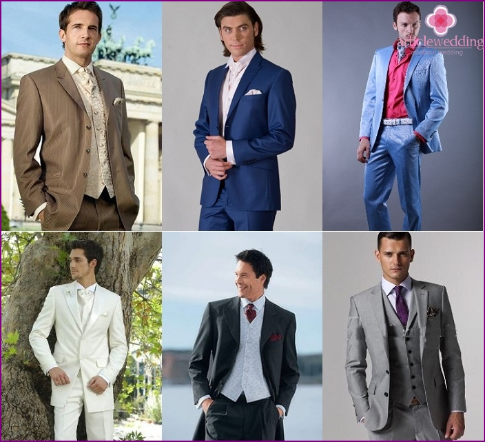 Buying a wedding suit