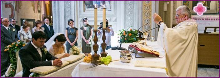 Kirchenritus in Italien