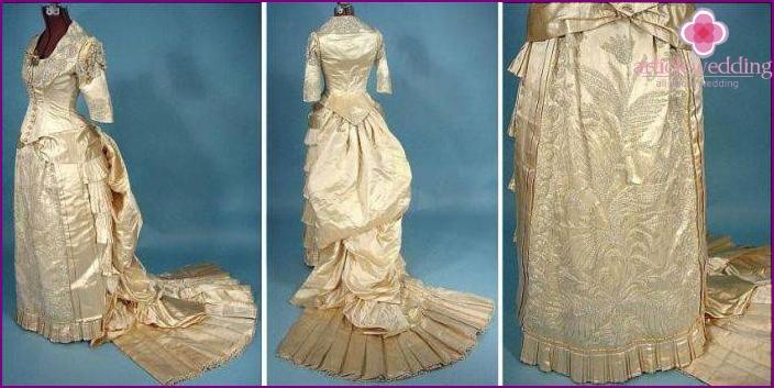 Wedding dresses of the era of Peter I