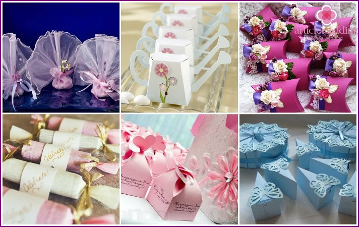 Prizes for wedding contests