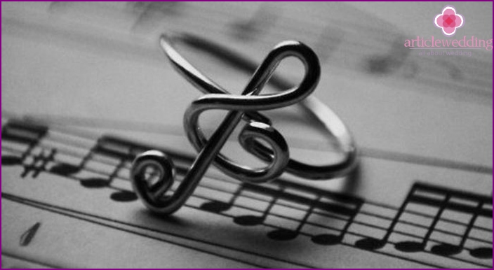 Music for the celebration of the silver wedding anniversary