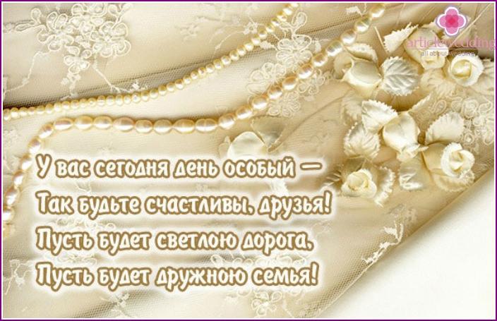 grattis verser Grattis till bröllopet av min moster i poesi, prosa och dina egna  grattis verser