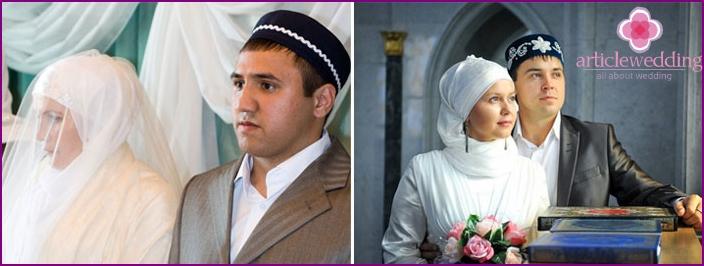 Muslimische Hochzeitszeremonie