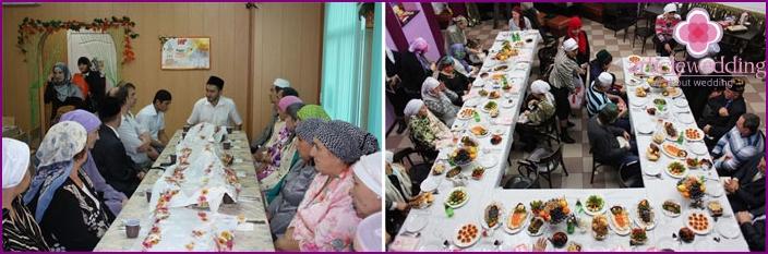 Tatar wedding feast