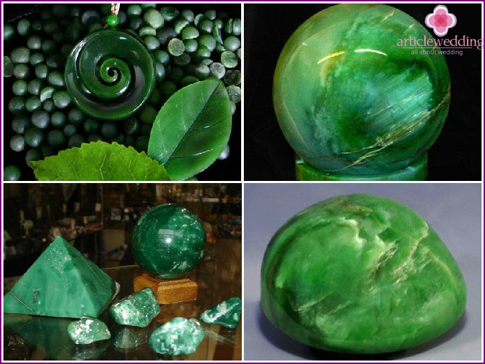 Jade als Symbol für den 26. Hochzeitstag