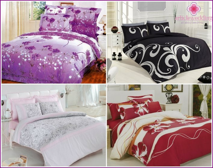 Bedding as a girl's dowry