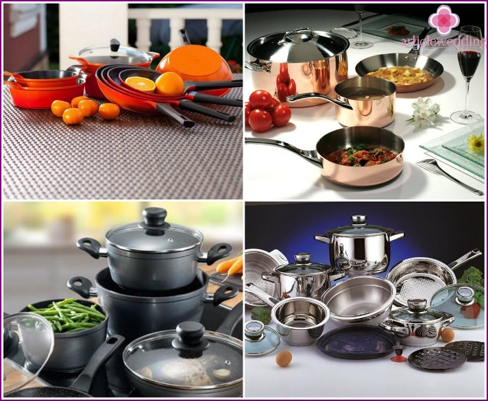 Utensils as a dowry young
