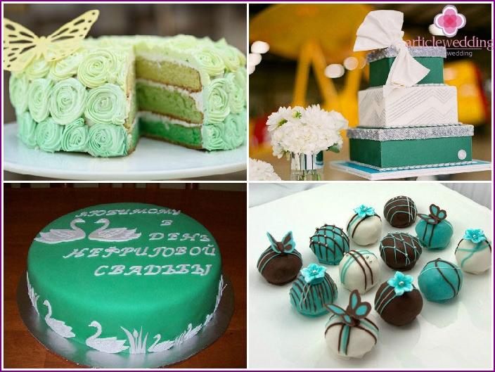 Desserts am 26. Hochzeitstag