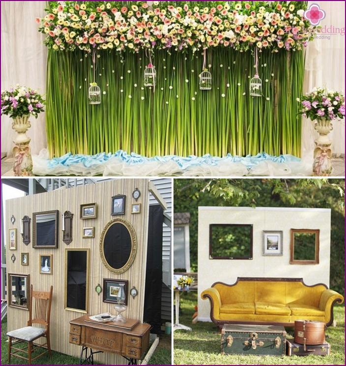 Wedding Photo Zone Ideas