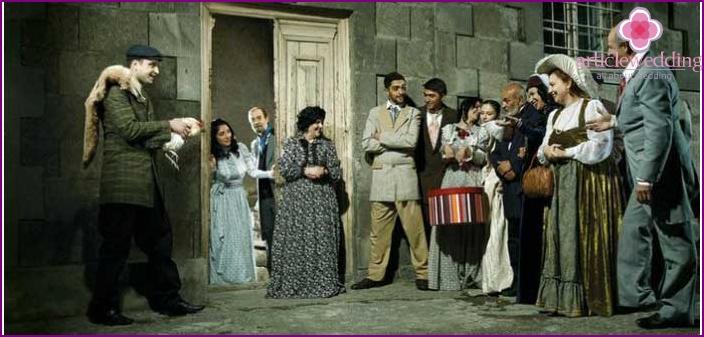 Armenian pre-wedding matchmaking