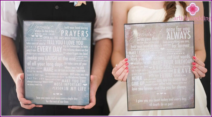Wedding Oath Texts