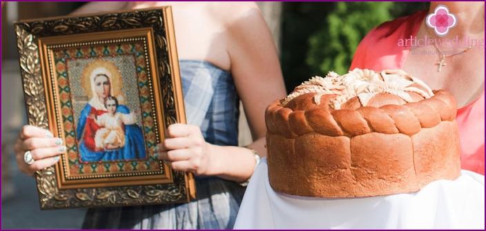 Kalach für eine goldene Hochzeit