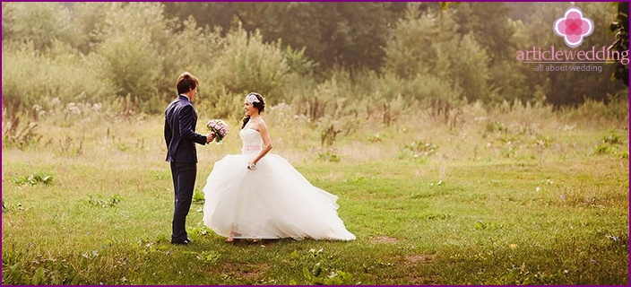A romantic date before the wedding - a great alternative to foreclosure