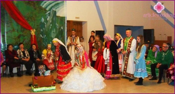 Bashkir wedding contract