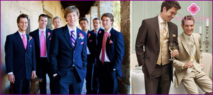 Wedding suit for the brother of the groom