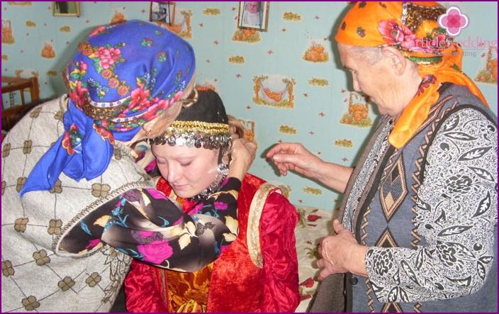 Bashkir wedding traditions