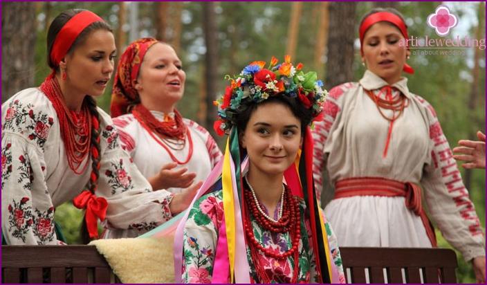 Junggesellenabschied der ukrainischen Braut