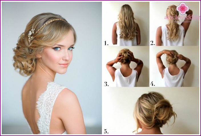 Natural hairstyles for wedding guests