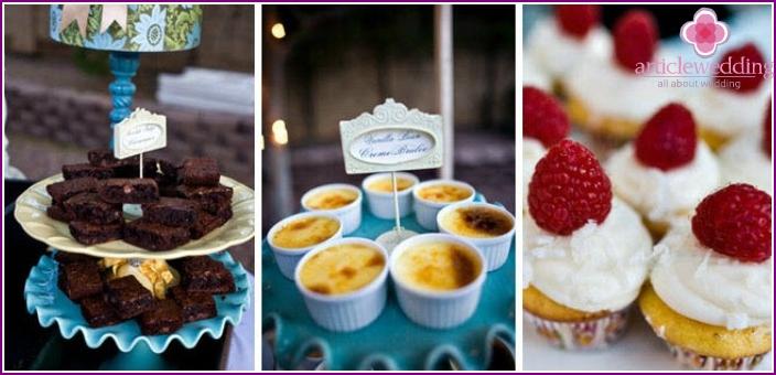 Great wedding dessert