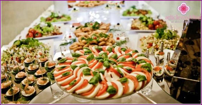 Rich home feast