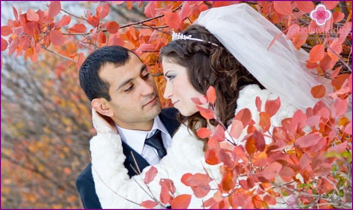 Young Armenian newlyweds