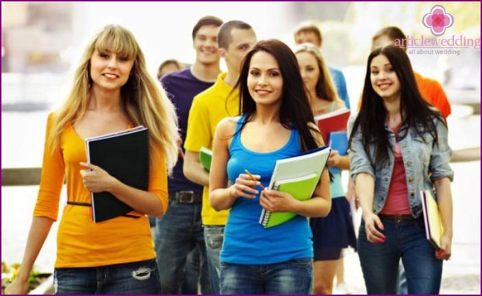 Institute students