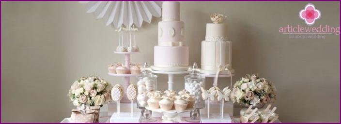 Sweet Cake Wedding Cake