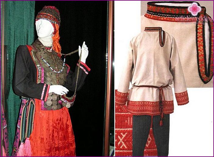 Chuvash wedding clothes