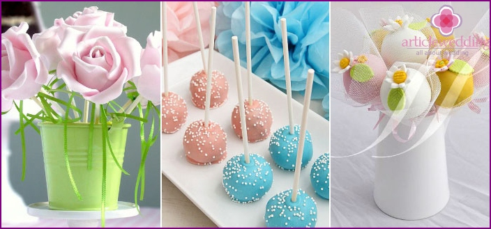 Cake pops - an interesting treat