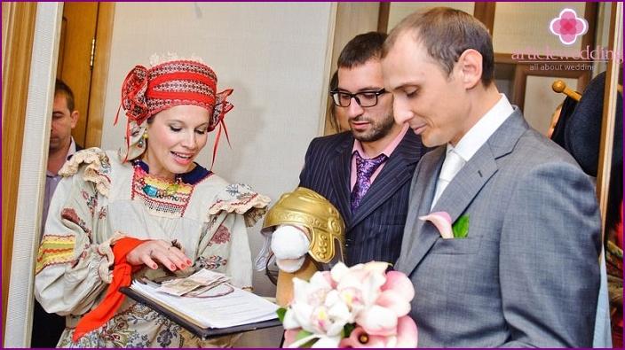 Die Lösegeldzeremonie der Braut