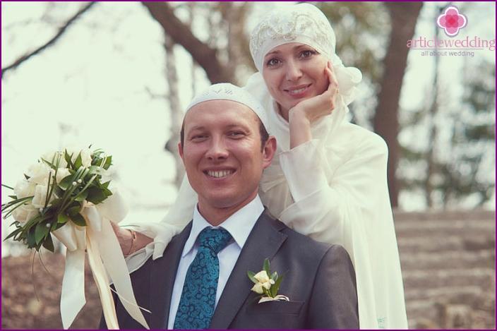 Tatar newlyweds