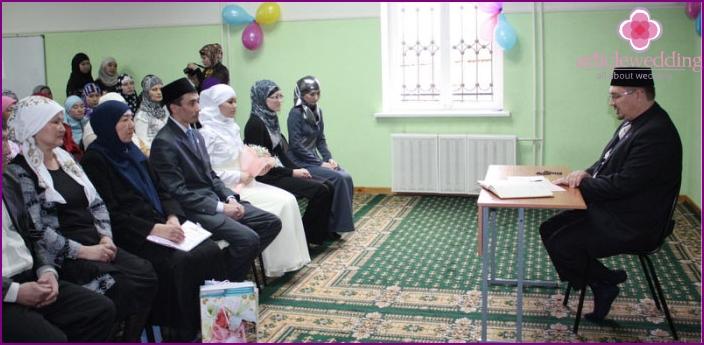 Tatar wedding rite Nikah