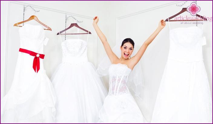 Ein anderes Outfit der Braut