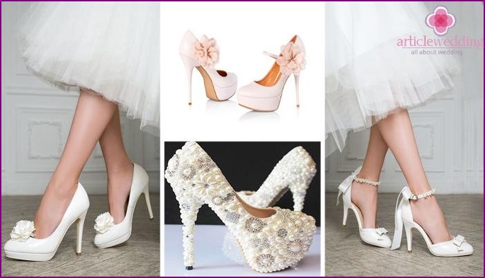 Die richtigen Schuhe für Braut und Bräutigam