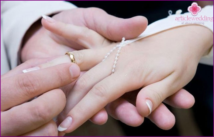 Jewelry newlyweds: allowed to change or not