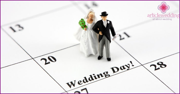 How to choose a date for marriage