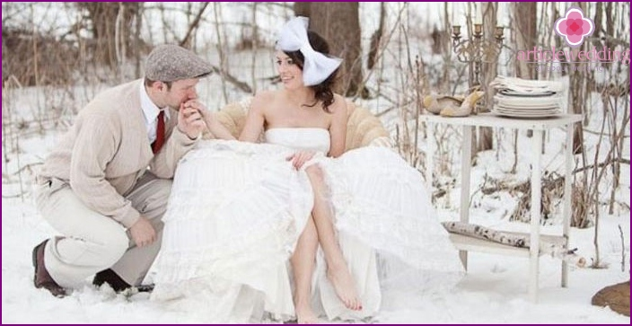 Marriage in the winter