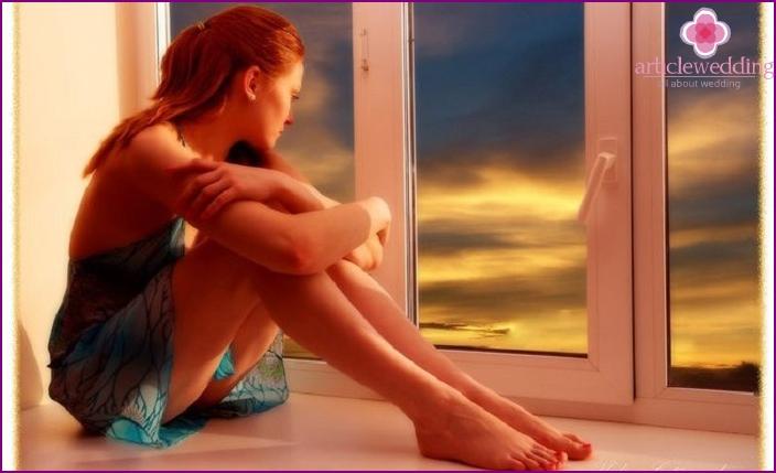 Die Ursache der Einsamkeit ist die Sehnsucht nach einer Person