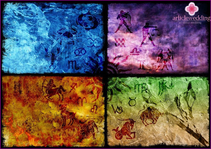 The influence of the zodiac sign