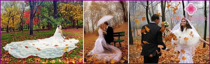 Herbst Fotoshooting: ein Spaziergang im Park