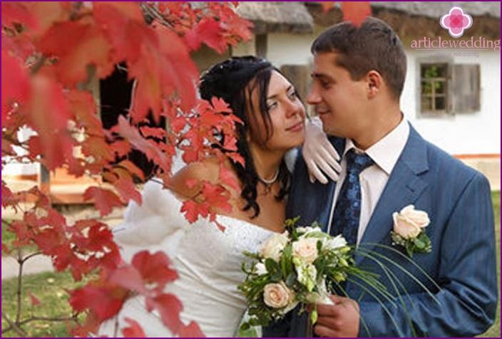 September Hochzeit Leidenschaft