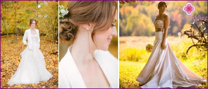 Wedding dress for September wedding
