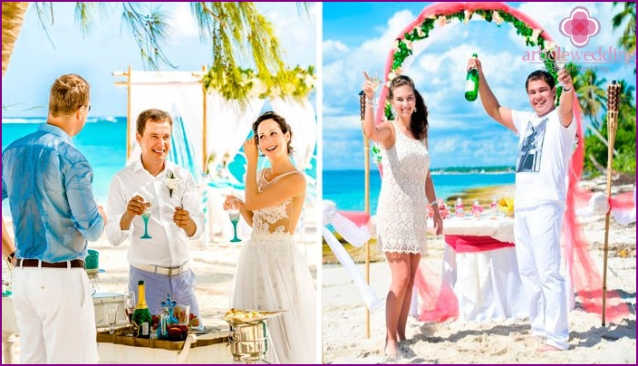 Beach Wedding Contests