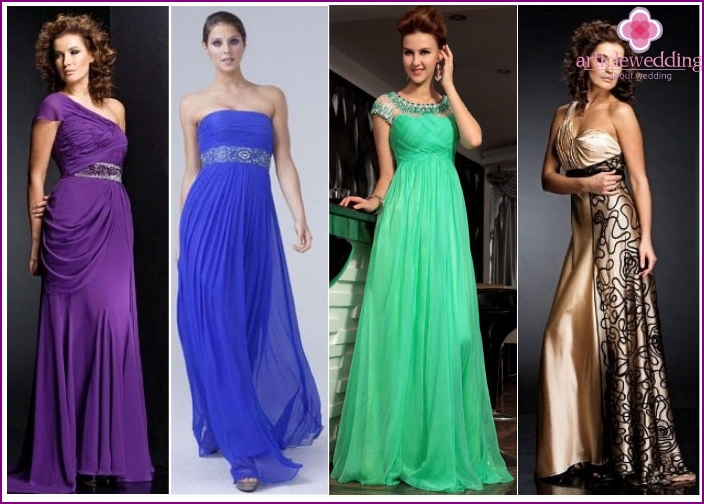 Greek style dresses for mom of the groom