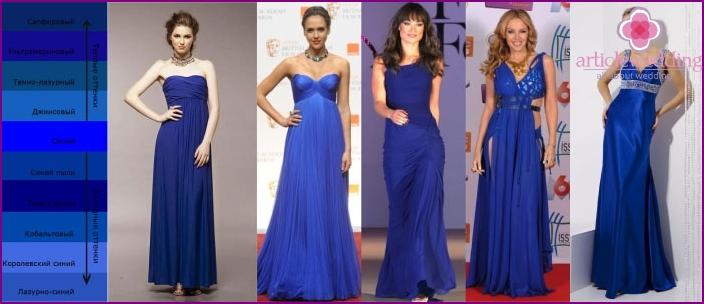 Options for Groom Mom Blue Dress