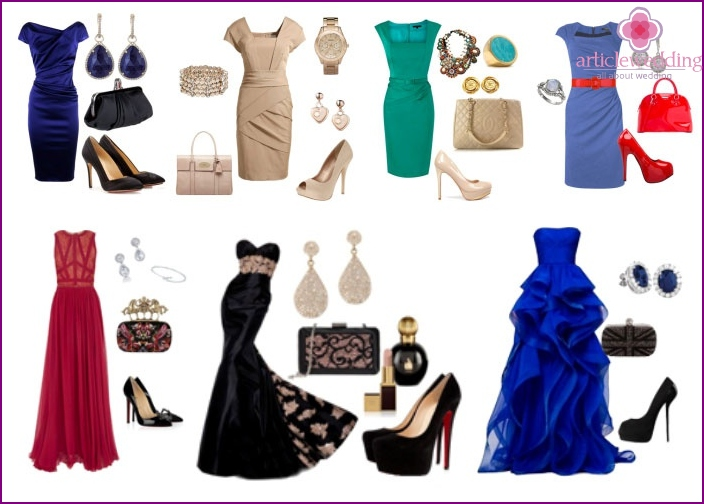 Outfits with accessories for mom of the groom