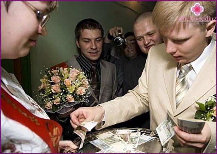 Redemption bride in tax style