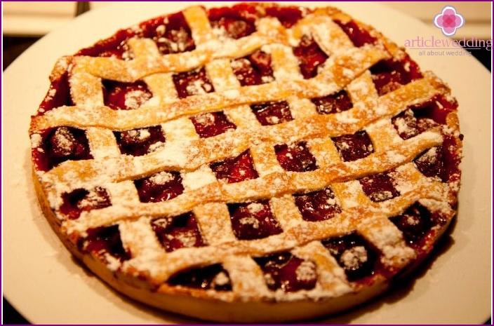 Vierte Hochzeit Cherry Pie