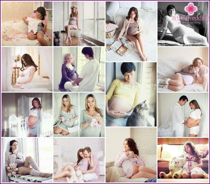 Home Schuss von schwanger